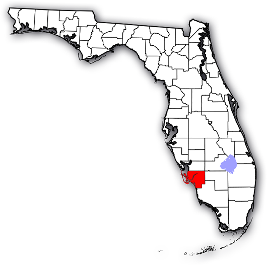 Image Result For Lee County Florida Map